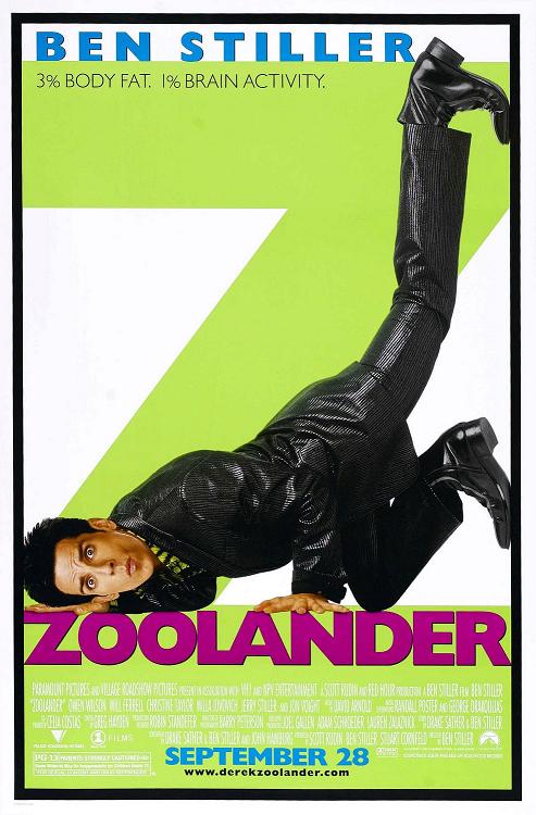 zoolander poster ita film da vedere 2001