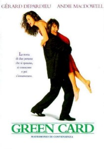 Green Card – Matrimonio di Convenienza