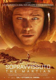 sopravvissuto the martian ridley scott film da vedere 2015 locandina italiana