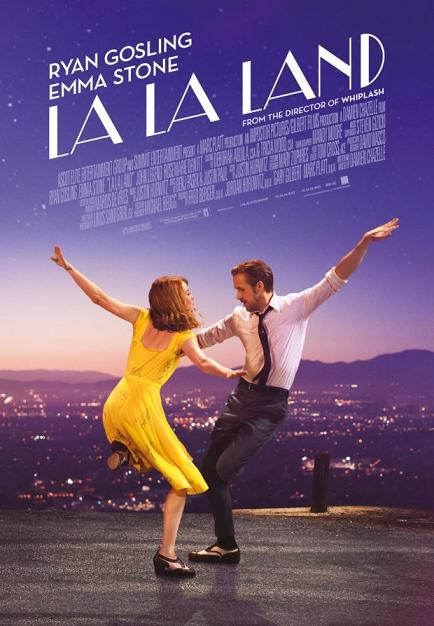 La La Land film da vedere 2016 2017 Ryan Gosling Emma Stone