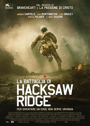 La battaglia di Hacksaw Ridge mel gibson film da vedere 2016 2017 candidato oscar miglior film