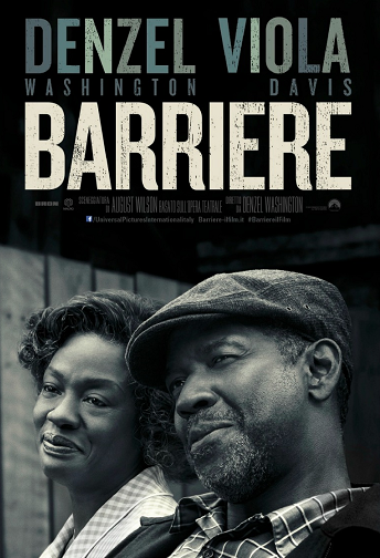barriere fences denzel washington viola davis oscar 2017 film da vedere 2016