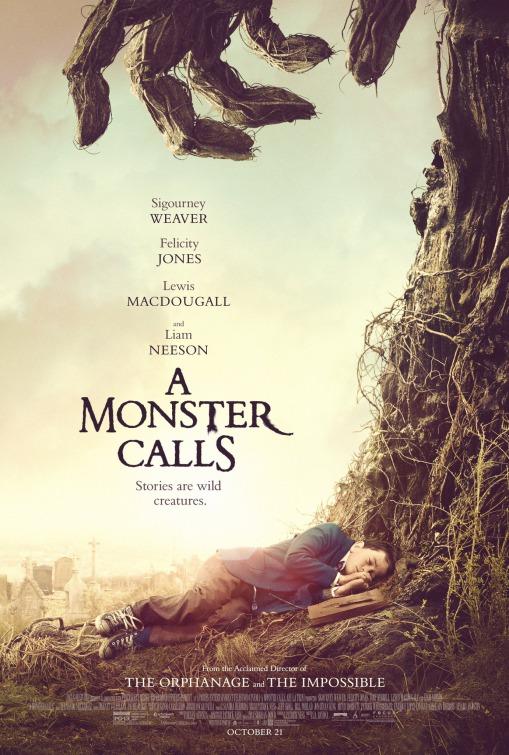 a monster calls 7 minuti dopo la mezzanotte locandina film da vedere 2016