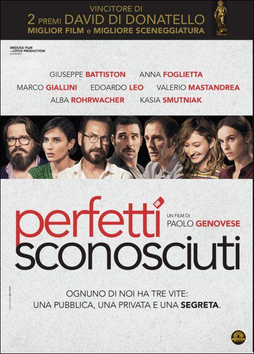 perfetti sconosciuti film da vedere 2016 paolo genovese locandina italiana