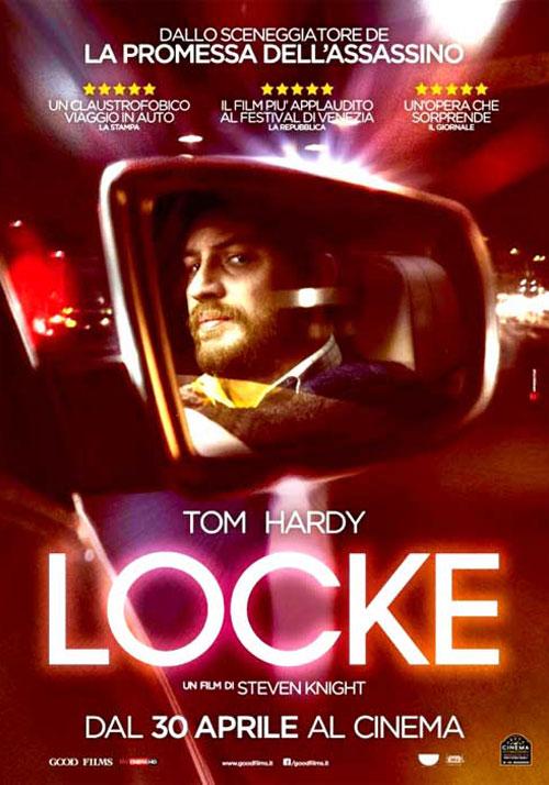 locke film da vedere 2013 locandina tom hardy