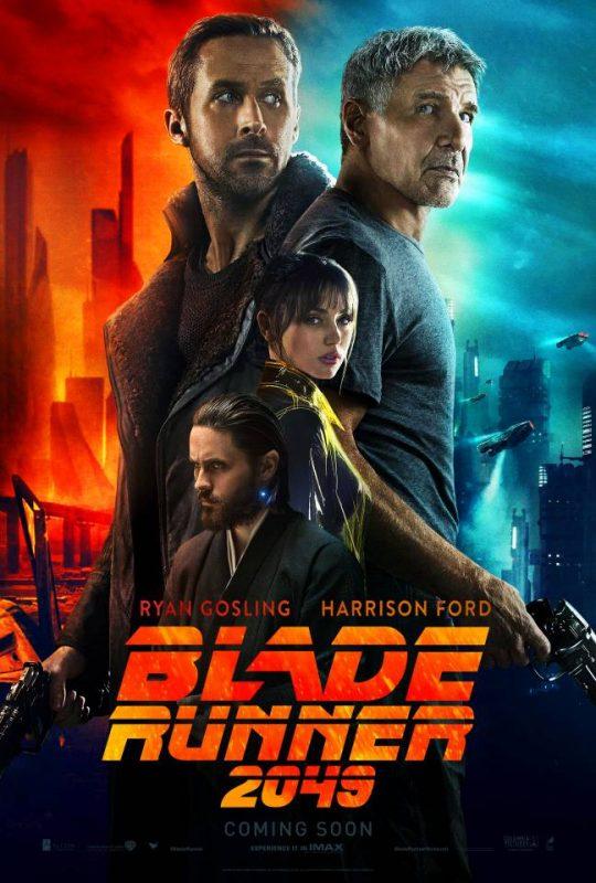 blade runner 2049 villeneuve film da vedere 2017 locandina