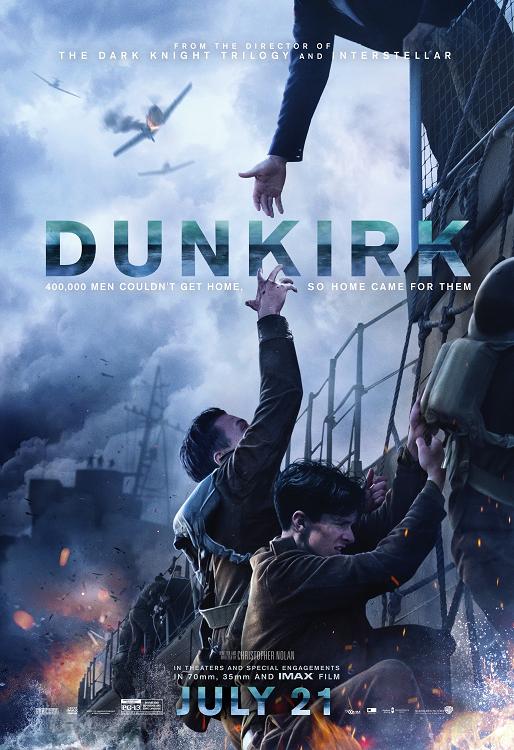 dunkirk film da vedere 2017 2018 locandina italiana christopher nolan