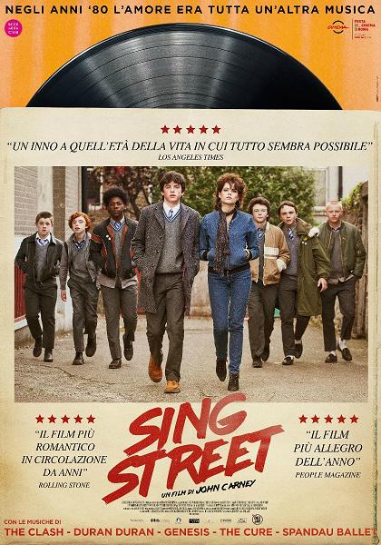 sing street film da vedere 2016 locandina italiana