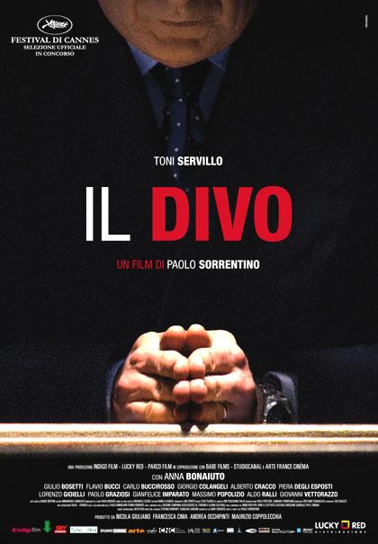 Il Divo film da vedere 2008 Sorrentino locandina italiana poster
