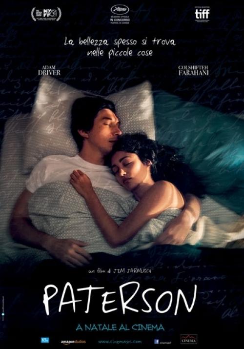 Paterson Jim Jarmusch film da vedere 2016 locandina italiana