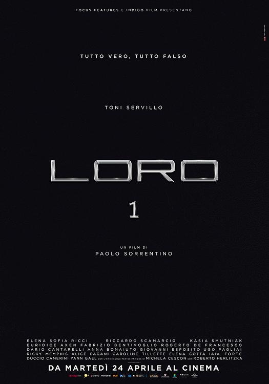 loro 1 film da vedere 2018 paolo sorrentino berlusconi poster locandina italiana