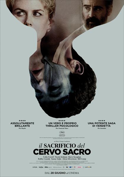 Il Sacrificio del Cervo Sacro 2017 film da vedere 2018 locandina poster ita