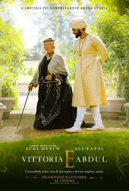 vittoria e abdul film da vedere 2017 locandina italiana poster