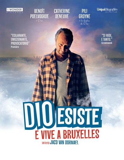 dio esiste e vive a bruxelles locandina italiana film da vedere 2015