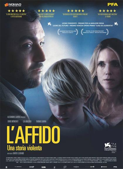 L'affido una storia di violenza film da vedere 2017 locandina poster