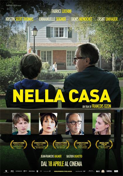 nella casa film da vedere 2012 locandina italiana
