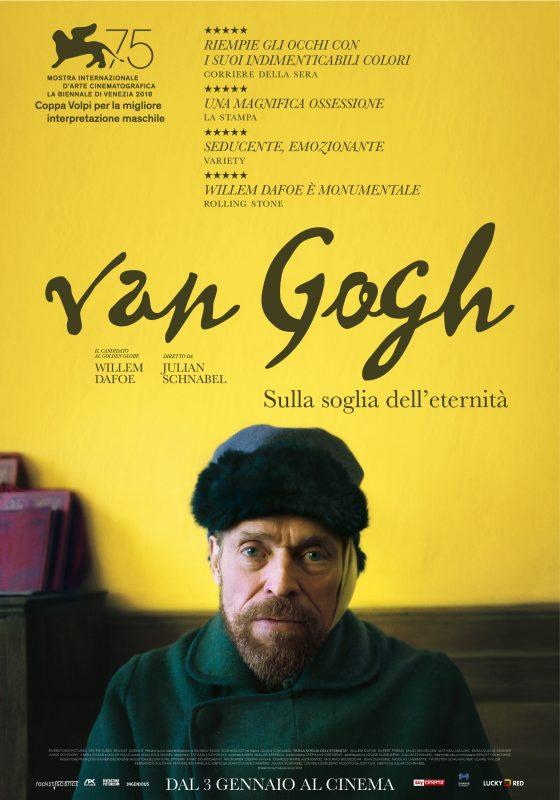 VAN GOGH - Sulla soglia dell'eternità film da vedere 2018 poster locandina italian