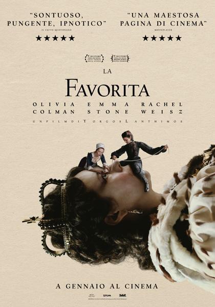 la favorita film da vedere 2018 2019 yorgos lanthimos oscar academy awards locandina poster