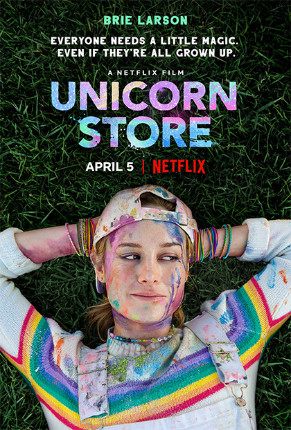 Unicorn store film da vedere 2017 netflix 2019 brie larson