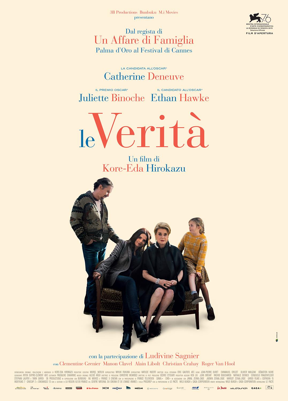 Le Verità film da vedere 2019 festival di Venezia poster locandina italiana