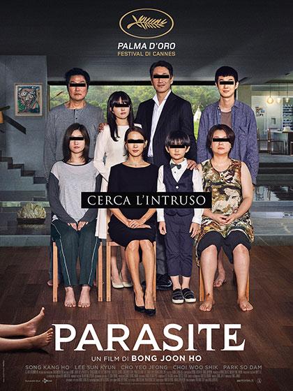 Parasite film da vedere 2019 locandina italiana cannes oscar 2020 miglior film straniero