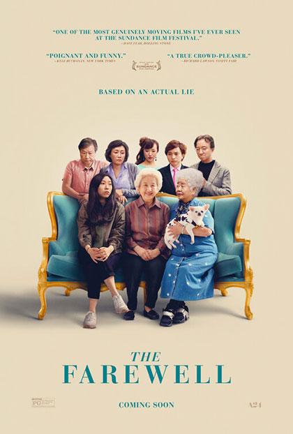 the farewell una bugia buona film da vedere 2019 locandina poster