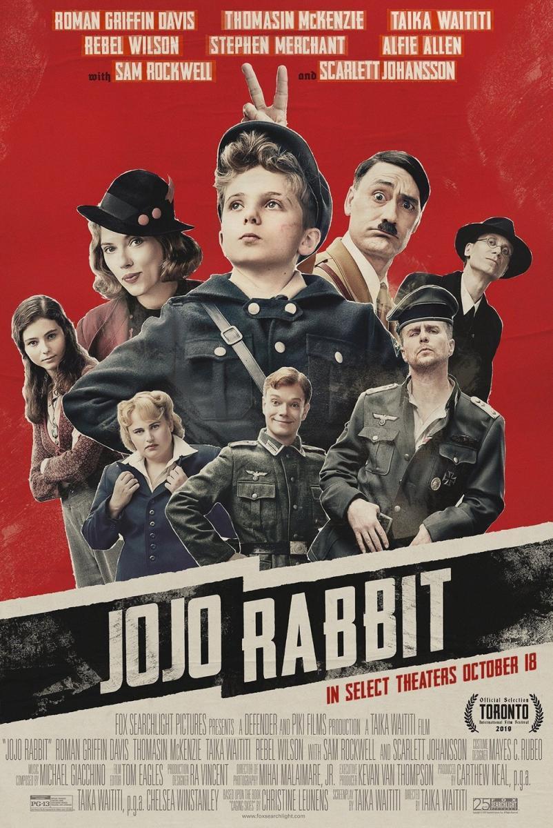 Jojo Rabbit film da vedere 2019 2020 locandina poster