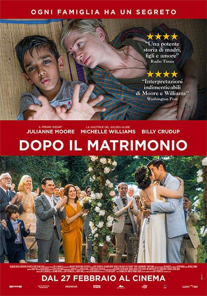 Dopo il matrimonio film da vdere 2019 2020 locandina italianan poster