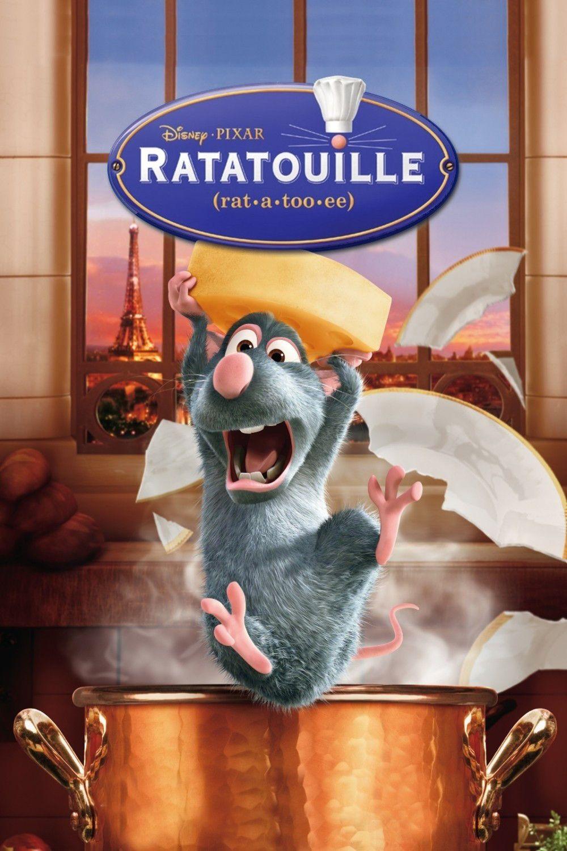 Ratatouille film da vedere animazione 2007 locandina poster