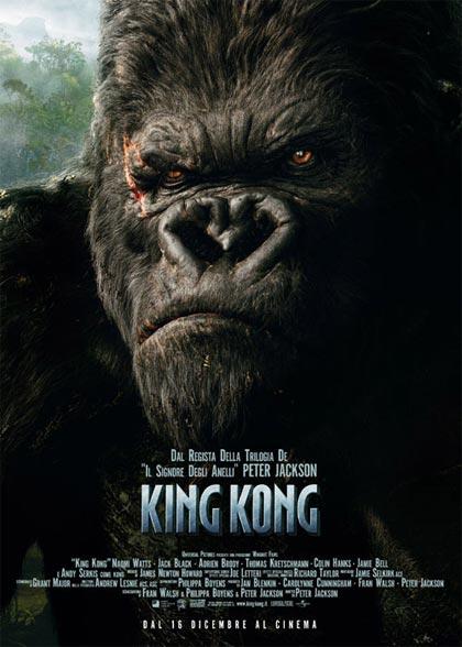 king kong film da vedere 2005 locandina italiana