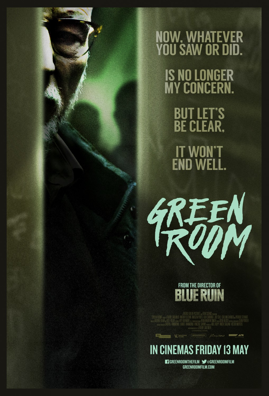 Green Room film da vedere 2015 locandina poster
