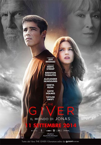 The giver il mondo di Jonas film da vedere del 2014 locandina italiana
