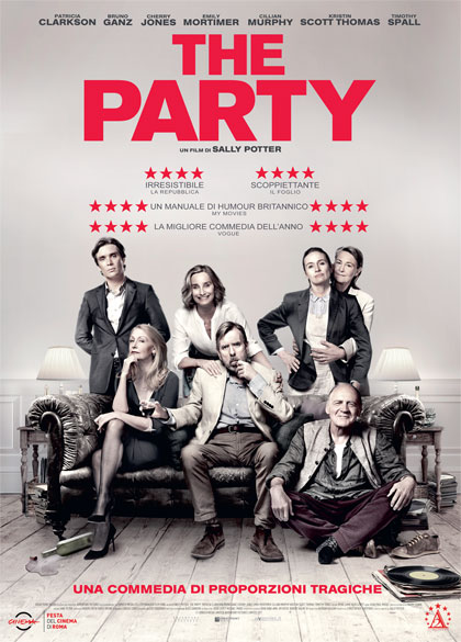 The Party film da vedere 2017 locandina italiana