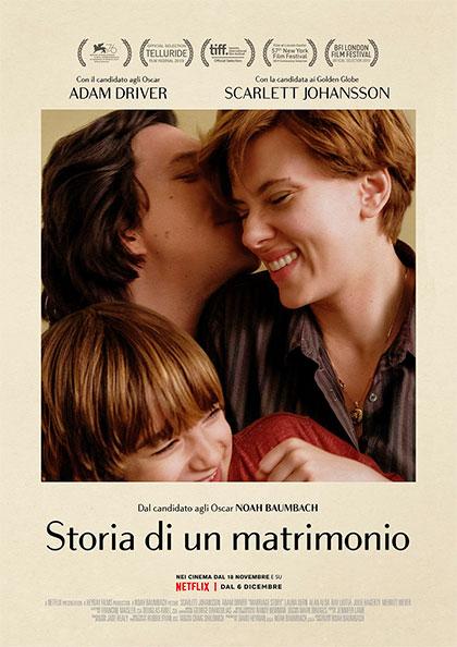 Storia di un Matrimonio film da vedere 2019 locandina italiana