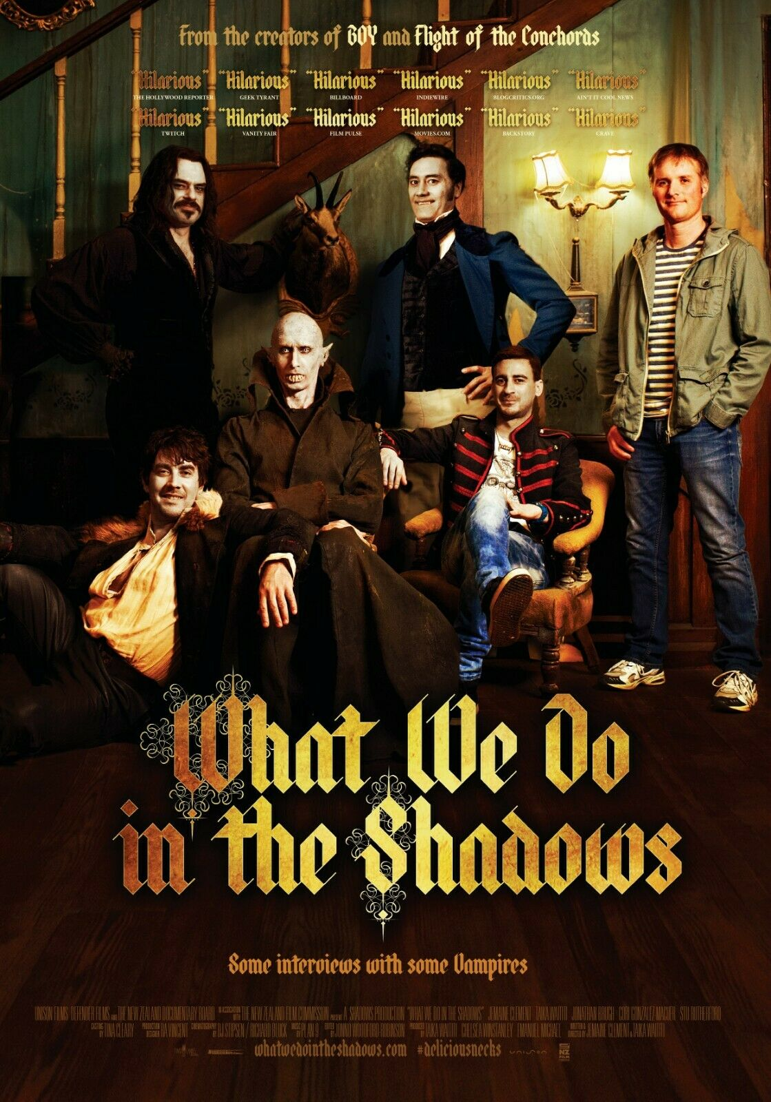 Vita da Vampiro – What We Do in the Shadows