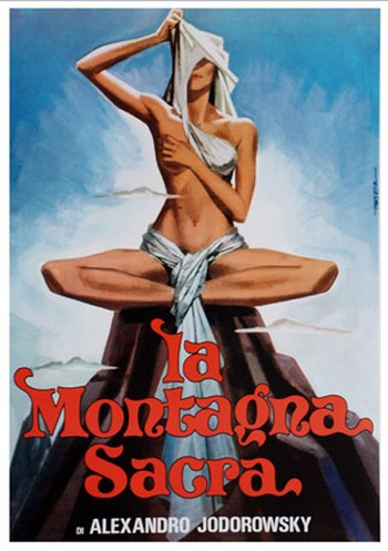 La Montagna Sacra film da vedere 1973 locandina Jodorowsky
